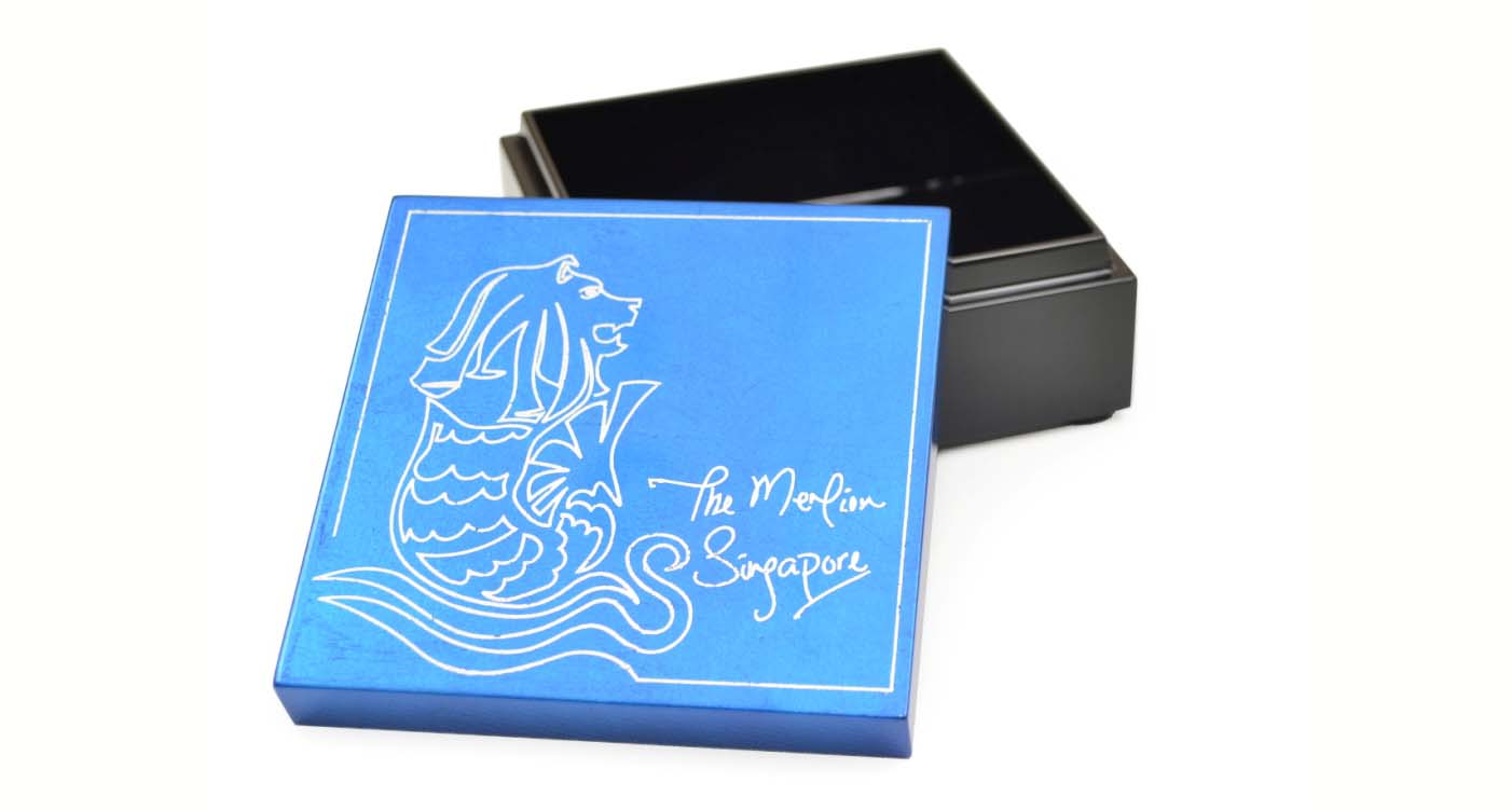Trinket Box (The Merlion), One Line Singapore