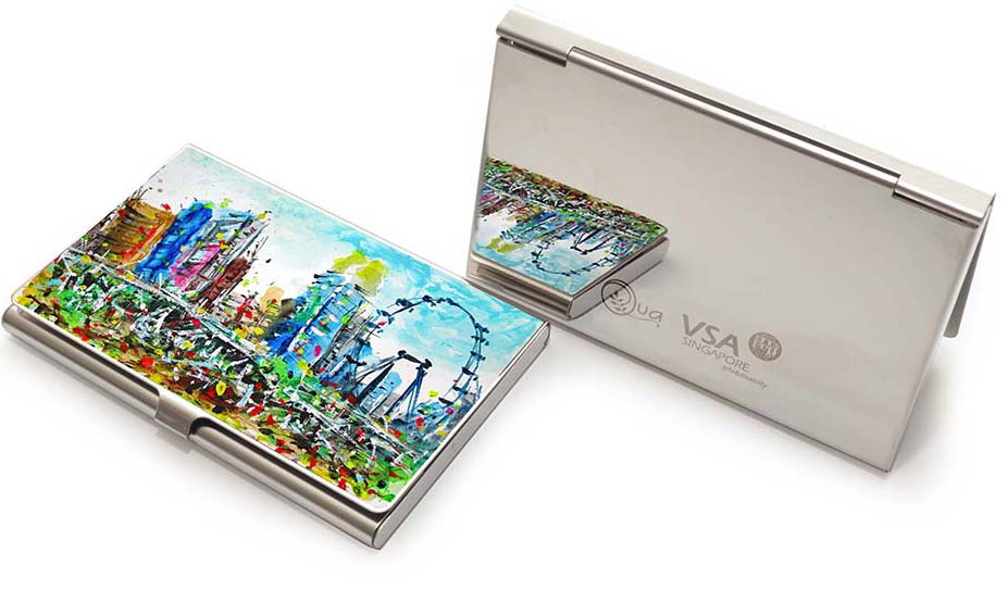 Business Card Case, Very Special Arts (Artwork by Raymond Lau - Singapore Flyer)