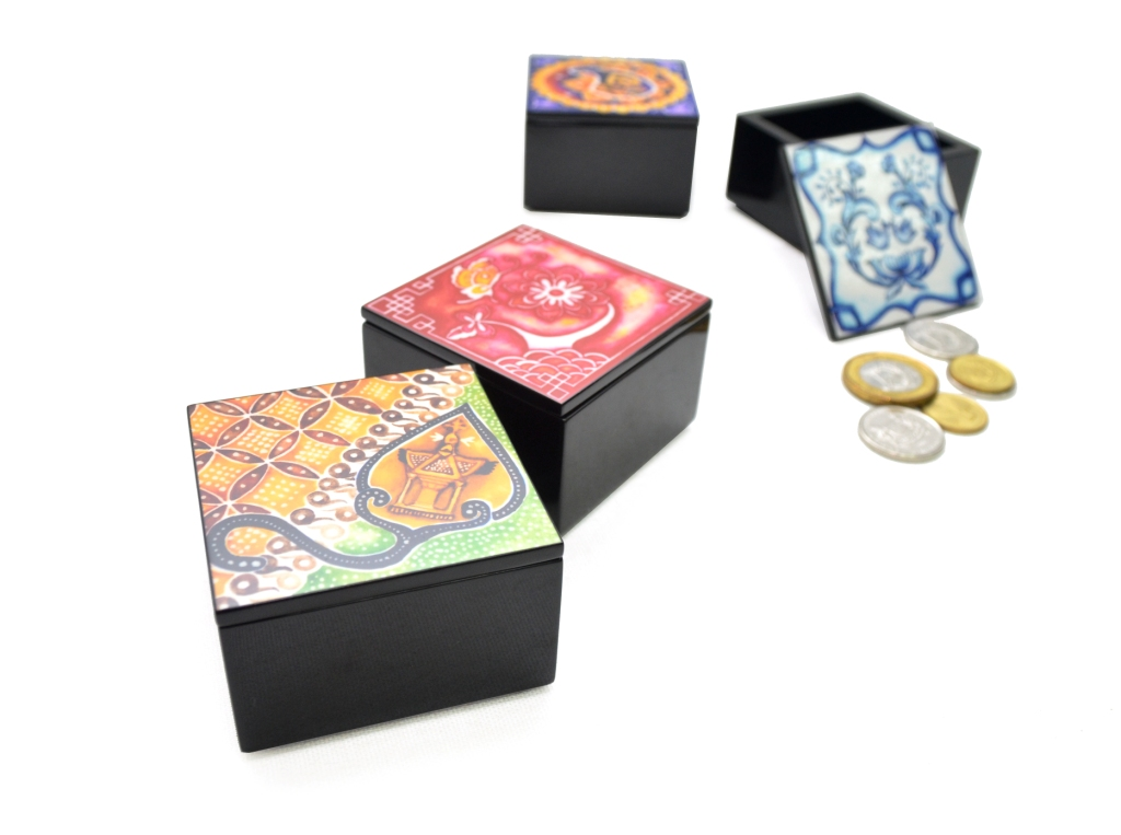 Mini Coin Box, Set of 4, Harmony