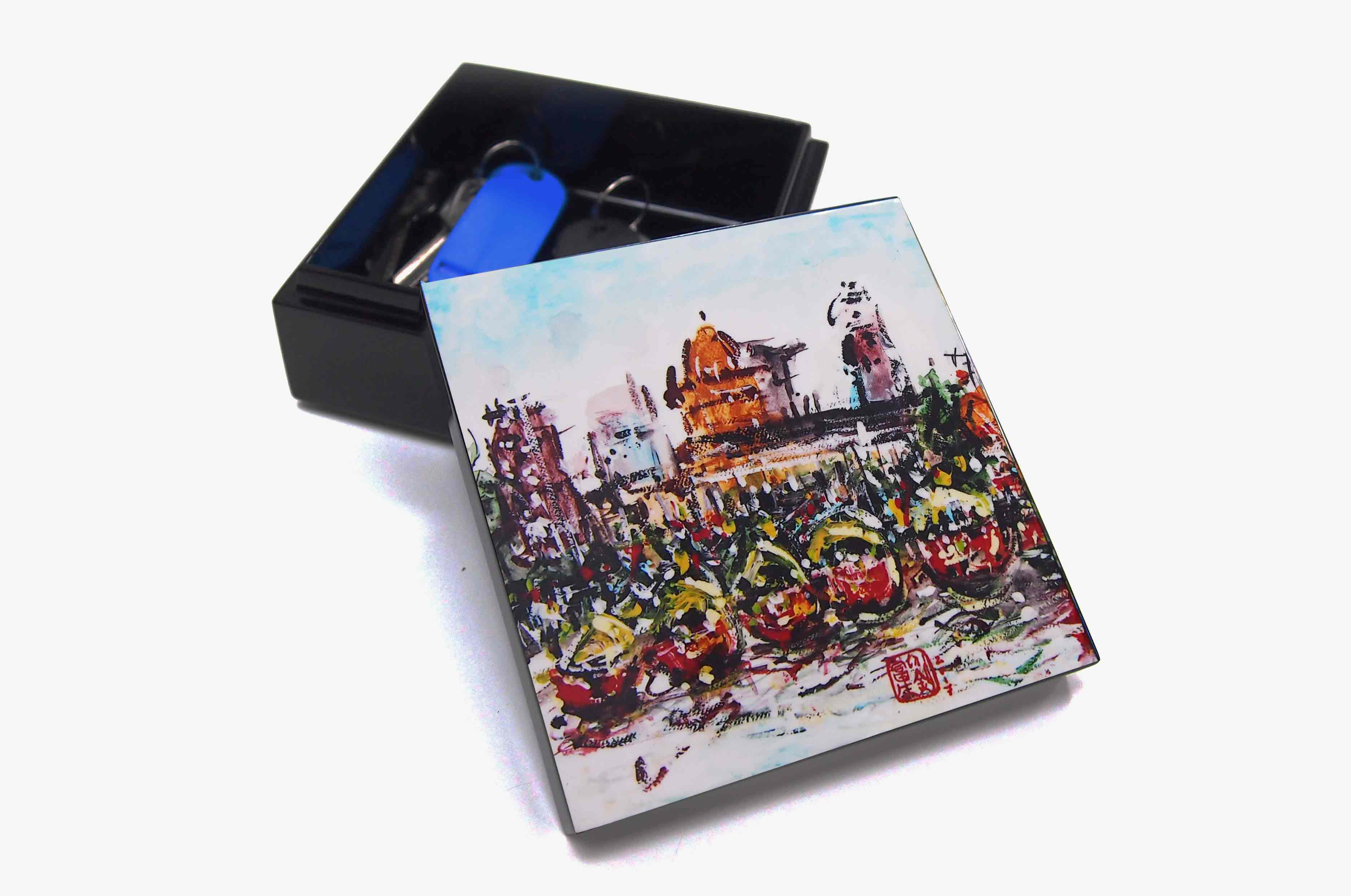 Trinket Box, Very Special Arts (Artwork by Raymond Lau - Boat Quay)