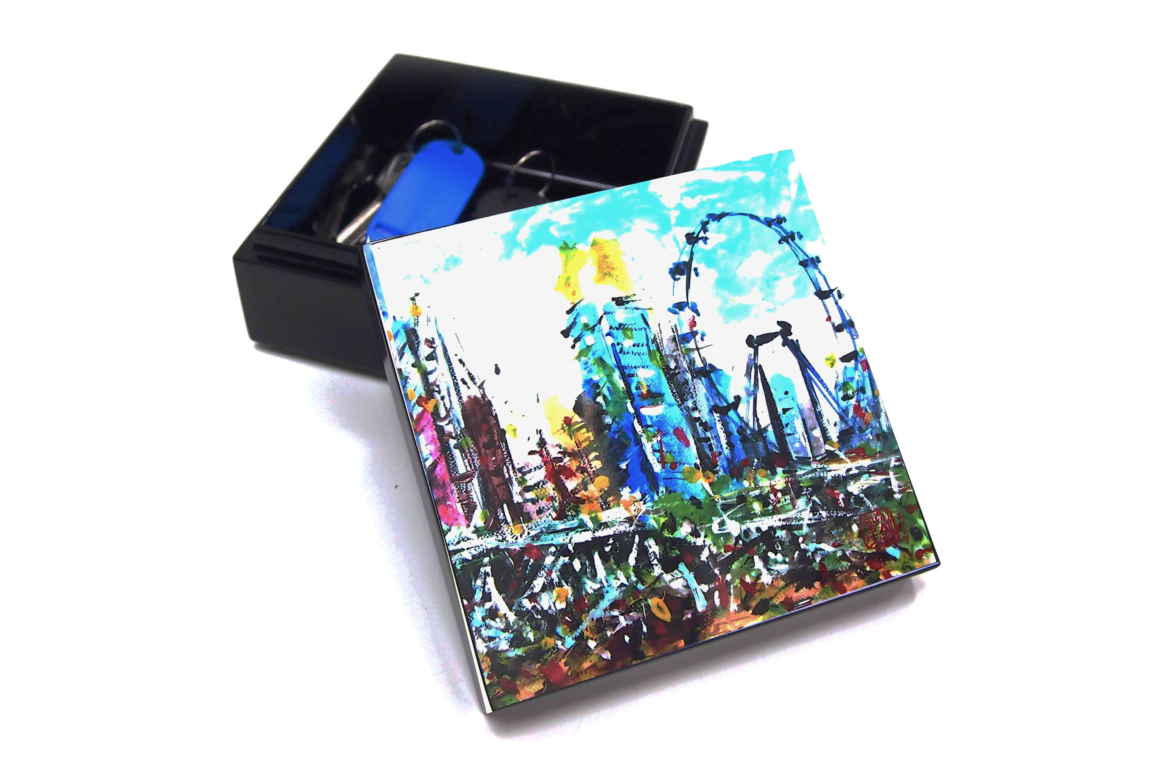 Trinket Box, Very Special Arts (Artwork by Raymond Lau - Singapore Flyer)