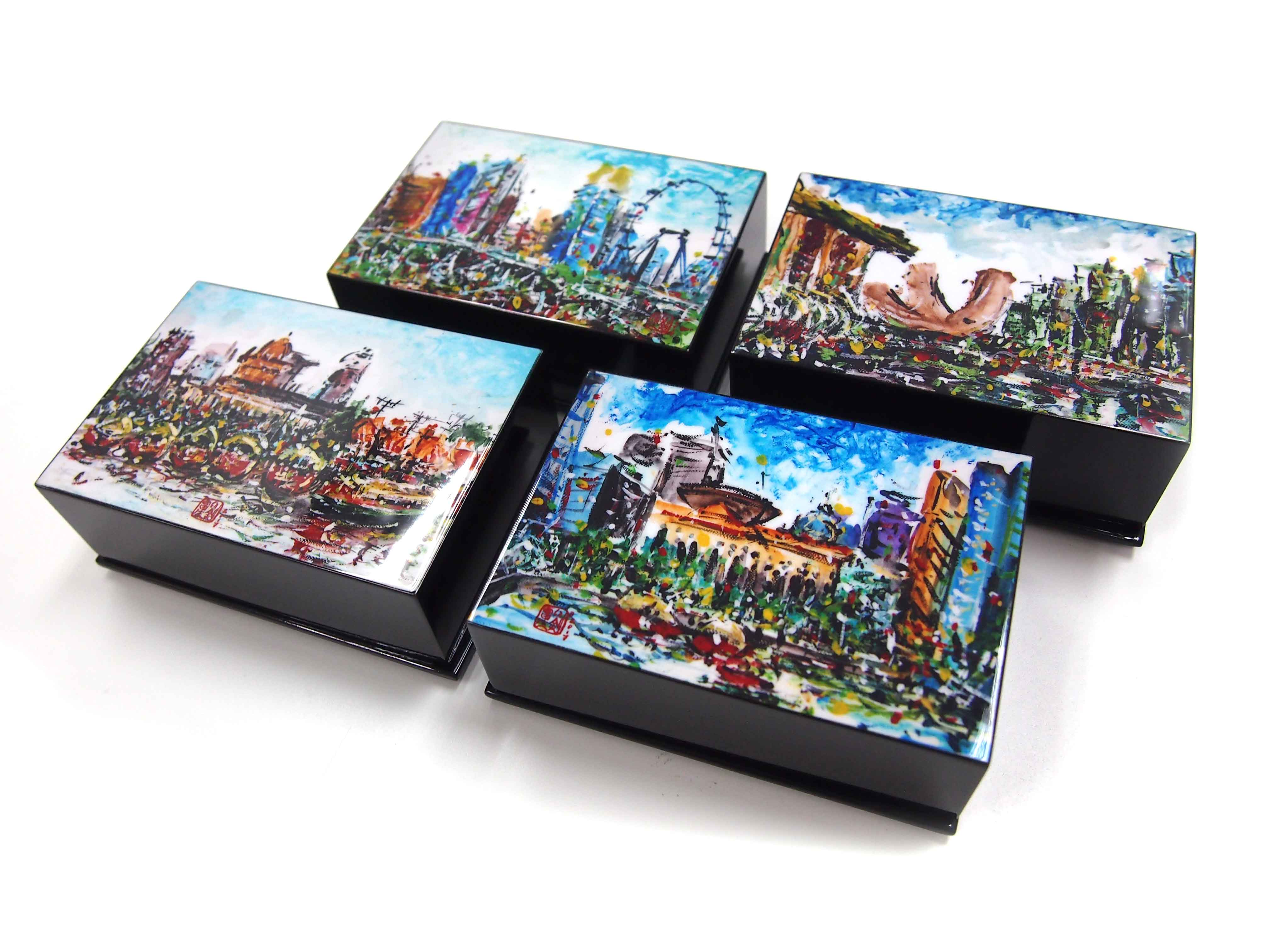 Business Card Box, Very Special Arts (Artwork by Raymond Lau - Supreme Court)