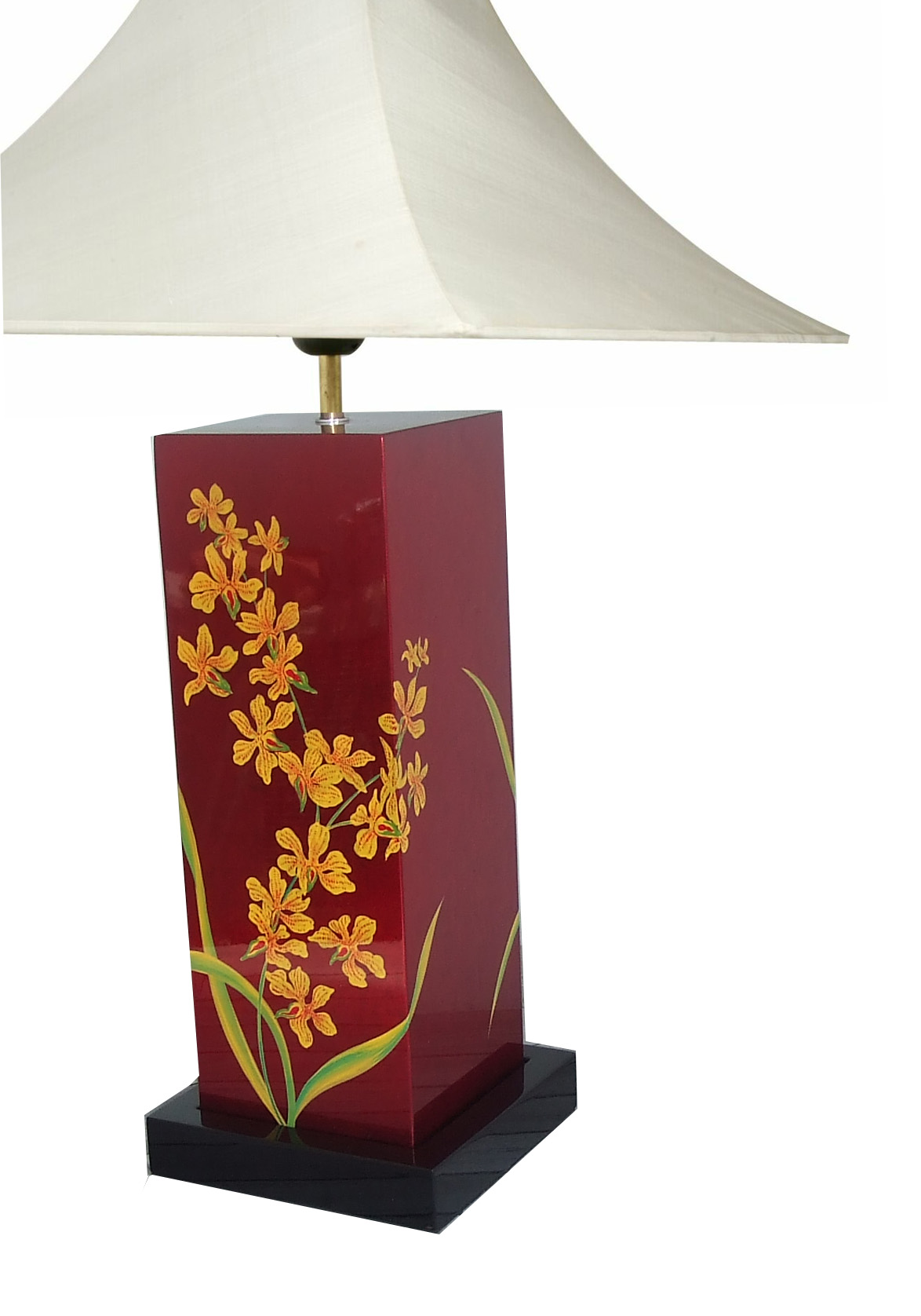 Table Lamp, Orchid